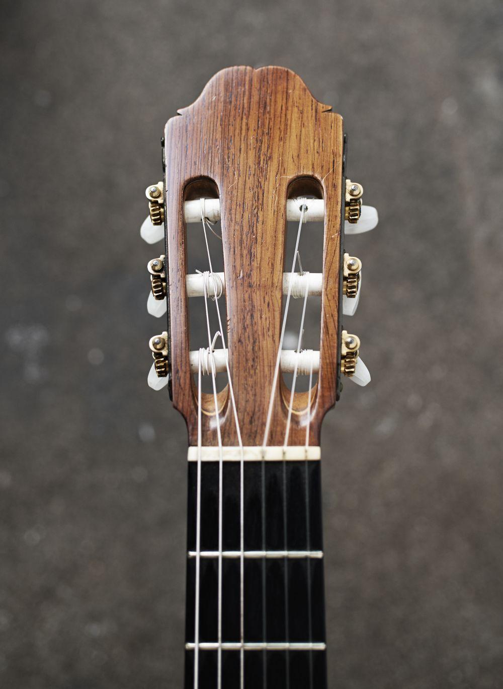 Guitarmusik til begravelse